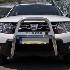 "Bullbar inox inalt Dacia Duster 2010 - 2017 2, 5""/64mm RNA0063 - Bullbar auto"