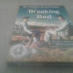 Breaking bad - The complete second season - 13 Ep - DVD [C] - Film serial, Crima, Engleza