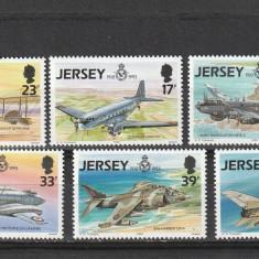 Aviatie militara, Jersey. - Timbre straine, Nestampilat