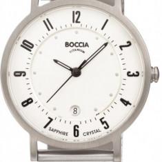 Ceas Boccia dama cod 3154-07 - pret 399 lei (marca germana; nou, original) - Ceas dama Boccia, Casual, Quartz, Titan, Otel, Data