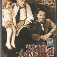 Film - Seria Cascadorii rasului - Stan si Bran Vol.1 !!! - Film Colectie, DVD, Altele