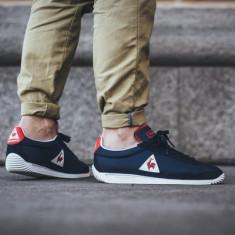 Pantofi Sport - Adidasi Le Coq Sportif Quartz Nylon Originali - Adidasi barbati Le Coq Sportif, Marime: 41, Culoare: Din imagine, Piele intoarsa