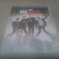 The Big Bang Theory - The Complete Fourth Season - 24 Ep - DVD [B] - Film serial, Comedie, Engleza