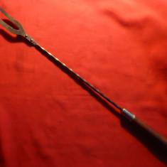 Teapa pt. friptura - instrument vechi de bucatarie, L= 53, 2 cm