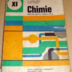 Chimie - manual clasa a XI a - Costin / Fatu / Toescu - Manual scolar Altele, Clasa 11