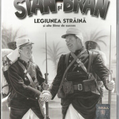 Film - Filme Adevarul - Seria Stan si Bran - Legiunea straina !!!! - Film Colectie, DVD, Altele