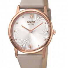 Ceas Boccia dama cod 3265-03 - pret 369 lei (marca germana; nou, original) - Ceas dama Boccia, Elegant, Quartz, Titan, Piele, Analog