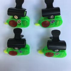 SET 4 Avertizori /senzori cu montare directa pe lanseta model nou - Avertizor pescuit