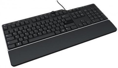 Dell US/Euro (QWERTY) Dell KB-522 Wired Business Multimedia USB Keyboard Black foto