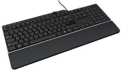 Dell US/Euro (QWERTY) Dell KB-522 Wired Business Multimedia USB Keyboard Black foto mare