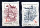 UNGARIA 1958, Aviatie, MNH, serie neuzata, Nestampilat