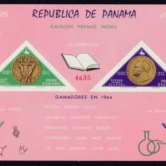 Panama 1964 Nobel cosmos MI Bl.38 MNH w44 - Timbre straine, Nestampilat
