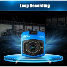 Camera auto DVR Podofo A1 GT300 Full HD 1080p, Negru 110lei - Camera video auto PilotOn, 32GB, Normal, Single, Senzor imagine MP CMOS: 12
