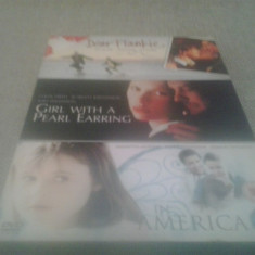 Dear Frankie + Girl With a pear earring + In America - DVD [A, B] - Film drama, Engleza