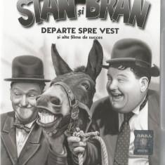 Film - Filme Adevarul - Seria Stan si Bran - Departe spre vest !!!! - Film Colectie, DVD, Altele