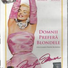 Film - Seria filme Dilema - Marilyn Monroe - Domnii prefera blondele !! - Film Colectie, DVD, Altele