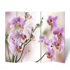 Paravan despartitor cu imprimeu floral