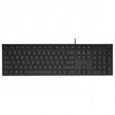 Keyboard Dell KB216 Multimedia, Romanian (QWERTZ), Black - Tastatura