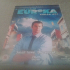 A town called Eureka Season One - 12 Ep - DVD [A, B] - Film serial, Comedie, Engleza