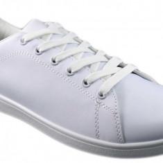 Pantofi Sport Barbatesti Albi - Adidasi barbati, Marime: 41, 44