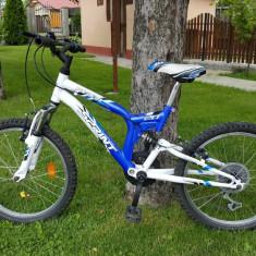 Bicicleta copii DHS 7-9ANI, 10 inch, 20 inch, Numar viteze: 6