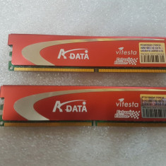 Memorii 1GB ADATA Vitesta Extreme Edition (AD2800E001GU) - poze reale - Memorie RAM A-data, DDR 2, 800 mhz, Dual channel