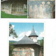 (A1)Lot- 5 carti postale-SUCEAVA-Manastirea Voronet - Carte postala tematica, Necirculata, Printata