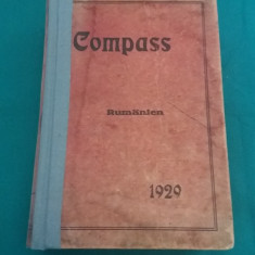 COMPASS RUMANIEN *ANUARUL FINANCIAR ROMÂN 1929 - Carte veche