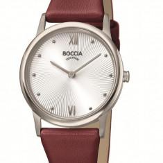 Ceas Boccia dama cod 3265-01 - pret 369 lei (marca germana; nou, original) - Ceas dama Boccia, Casual, Quartz, Titan, Piele, Analog