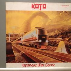 KOTO - JAPANESE WAR GAME(1983/ZYX REC/RFG) - Vinil/Analog 100%/Impecabil (NM) - Muzica Dance virgin records