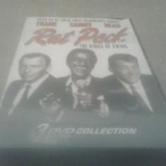 Rat Pack - Kings of swing - Frank Sinatra /Sammy Davis / Dean Martin - DVD [B] - Teatru, Engleza