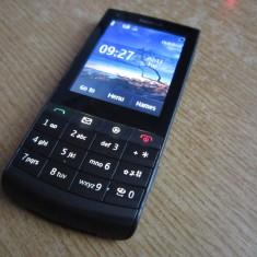 NOKIA X3-02 TOUCH AND TYPE FUNCTIONAL CU SLOT SIM DEFECT - Telefon Nokia, Negru, Nu se aplica, Single SIM, Single core, 64 MB