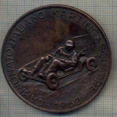 ZET 490 MEDALIE SPORTIVA - KARTING(CARTING) -CUPA ITALIEI -TROFEUL ESSO -1962, Europa
