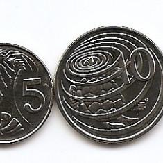 Insulele Cayman Set 4 - 1, 5, 10, 25 Cents 2008 - UNC !!!, America de Nord