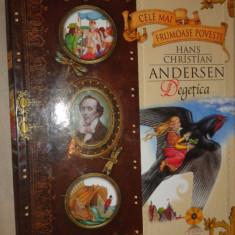 Degetica + 4 povesti cu ilustratii 72pagini- Andersen - Carte de povesti