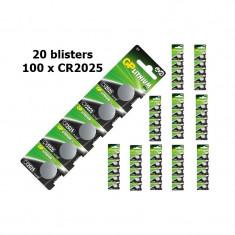 GP CR2025 Lithium battery Conţinutul pachetului 20 x Blister - Baterie Aparat foto