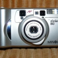 MINOLTA ZOOM 80 - Aparat Foto cu Film Konica Minolta