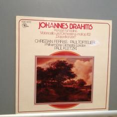 BRAHMS - CONCERT FOR VIOLIN...C.FERRAS/P.TORTELIER (1963/EMI /RFG) -VINIL/ca Nou - Muzica Clasica emi records