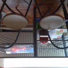 Masa de bucatarie cu scaune - Masa bucatarie