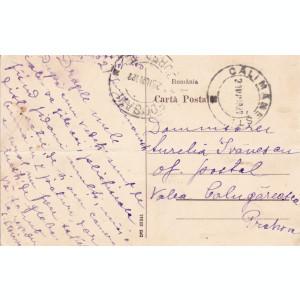 SALUTARI DIN  BAILE CALIMANESTI  DEFILEUL TURNU GURA LOTRULUI SATUL CIRC. 1927