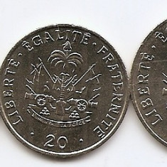 Haiti Set 3 - 5, 20, 50 Centimes 1995/00 - UNC !!!, America de Nord
