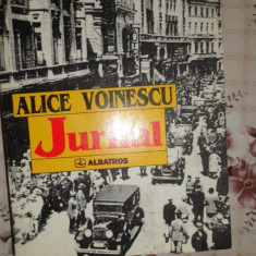 Jurnal an 1997/881pag- Alice Voinescu - Biografie