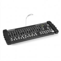 BEAMZ DMX384, Controller DMX, consolă de iluminat, 384 CANALE, MIDI, USB - Masina de fum