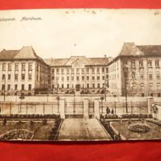 Ilustrata - Cluj - Marianum - Colegiul Reformat 1916 - Carte Postala Transilvania 1904-1918, Circulata, Printata
