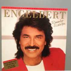 ENGELBERT HUMPERDINCK - REMEMBER I LOVE(1987/BMG REC/RFG) - Vinil/Impecabil (NM) - Muzica Dance ariola