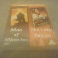 Man of miracles / The little patriot - DVD [C], Engleza