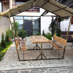 Foisor - Mobila terasa gradina