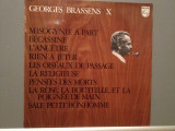 GEORGES BRASSENS - no.10 (1969/PHILIPS/FRANCE) - Vinil/RAR/Analog 100%/Impecabil
