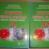 Dictionar general de stiinte englez francez roman 2 vol/an 2007/1970pag
