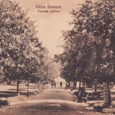 BAILE GOVORA TERASA BAILOR LIBRARIA ANASTASIU & PETRESCU RM. VALCEA CIRC.1926 - Carte Postala Oltenia dupa 1918, Circulata, Printata